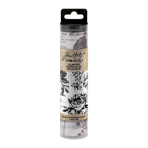 Tim Holtz - Collage Paper - Botanical