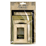 Advantus - Tim Holtz - Idea-ology Collection - Baseboards, Frames