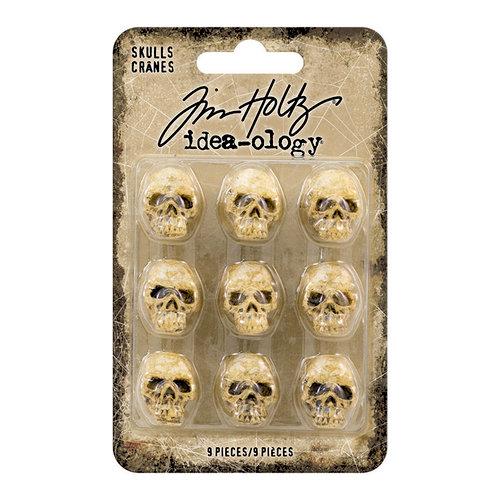 Advantus - Tim Holtz - Idea-ology Collection - Halloween - Skulls