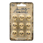 Advantus - Tim Holtz - Idea-ology Collection - Halloween - Skulls