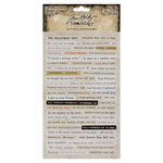 Advantus - Tim Holtz - Idea-ology Collection - Clipping Stickers - Halloween