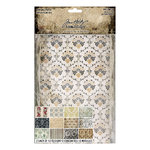 Advantus - Tim Holtz - Idea-ology Collection - Worn Wallpaper - Halloween - 24 Sheets