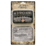 Advantus - Tim Holtz - Idea-ology Collection - Trinket Tins - Halloween