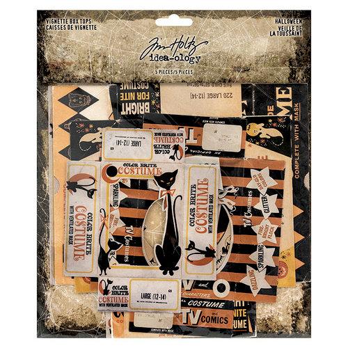 Advantus - Tim Holtz - Idea-ology Collection - Vignette Box Tops - Halloween