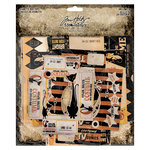 Advantus - Tim Holtz - Idea-ology Collection - Vignette Box Tops - Halloween