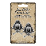 Advantus - Tim Holtz - Idea-ology Collection - Halloween - Adornments - Jolly Roger