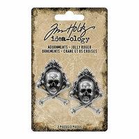 Idea-ology - Tim Holtz - Halloween - Adornments - Jolly Roger