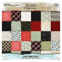 Idea-ology - Tim Holtz - Christmas - 8 x 8 Paper Stash