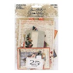 Advantus - Tim Holtz - Idea-ology Collection - Christmas - Ephemera Pack