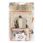 Advantus - Tim Holtz - Idea-ology Collection - Christmas - Ephemera Pack