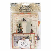 Idea-ology - Tim Holtz - Christmas - Ephemera Pack
