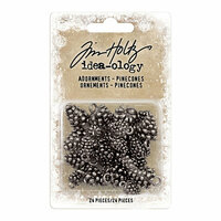 Idea-ology - Tim Holtz - Christmas - Adornments - Pinecones