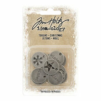 Idea-ology - Tim Holtz - Christmas - Tokens