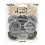 Advantus - Tim Holtz - Idea-ology Collection - Christmas - Quote Tokens