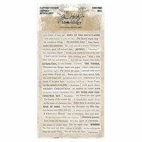 Idea-ology - Tim Holtz - Christmas - Clipping Stickers