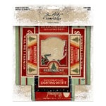 Advantus - Tim Holtz - Idea-ology Collection - Christmas - Vignette Box Tops