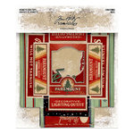 Advantus - Tim Holtz - Idea-ology Collection - Christmas - Vignette Box Tops