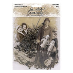 Advantus - Tim Holtz - Idea-ology Collection - Christmas - Paper Dolls