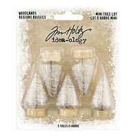 Idea-ology - Tim Holtz - Christmas - Woodlands Tree Lot - Mini