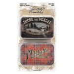 Advantus - Tim Holtz - Idea-ology Collection - Christmas - Trinket Tins