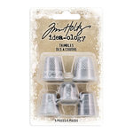 Advantus - Tim Holtz - Idea-ology Collection - Christmas - Thimbles