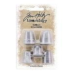 Advantus - Tim Holtz - Idea-ology Collection - Christmas - Thimbles