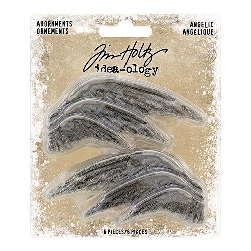Idea-ology - Tim Holtz - Christmas - Adornments - Angelic