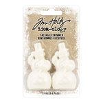 Advantus - Tim Holtz - Idea-ology Collection - Christmas - Salvaged Snowmen