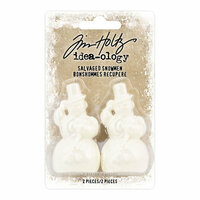 Idea-ology - Tim Holtz - Christmas - Salvaged Snowmen