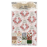 Advantus - Tim Holtz - Idea-ology Collection - Christmas - Worn Wallpaper
