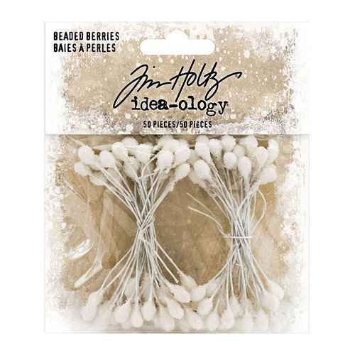 Idea-ology - Tim Holtz - Christmas - Beaded Berries