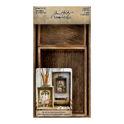 Idea-ology - Tim Holtz - Vignette Set