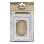 Advantus - Tim Holtz - Idea-ology Collection - Baseboard Frames - Lace