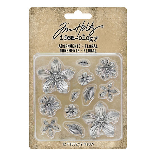 Idea-ology - Tim Holtz - Adornments - Floral