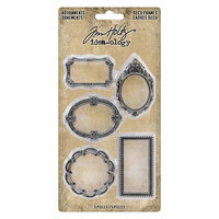 Idea-ology - Tim Holtz - Adornments - Deco Frames