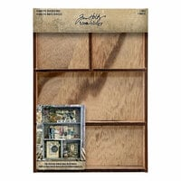 Idea-ology - Tim Holtz - Vignette Divided Box