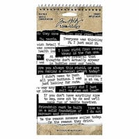 Idea-ology - Tim Holtz - Big Talk - Snarky
