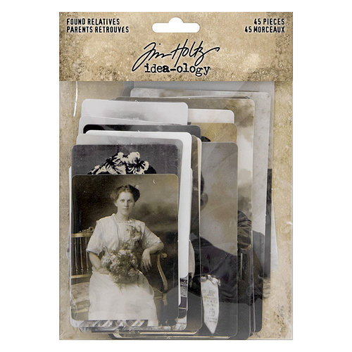 Advantus - Tim Holtz - Idea-ology Collection - Found Relatives