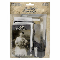 Idea-ology - Tim Holtz - Found Relatives
