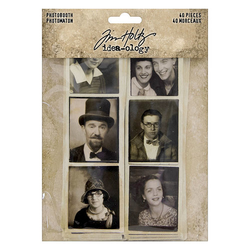 Idea-ology - Tim Holtz - Photobooth