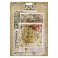 Idea-ology - Tim Holtz - Journal Cards