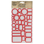 Advantus - Tim Holtz - Idea-ology Collection - Cardstock Stickers - Classic Label