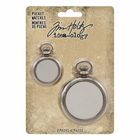 Idea-ology - Tim Holtz - Pocket Watches