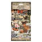 Idea-ology - Tim Holtz - Halloween- Sticker Book - Curiosities