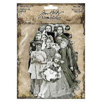 Idea-ology - Tim Holtz - Halloween - Paper Dolls