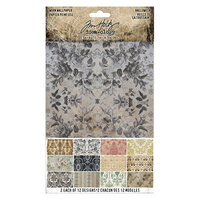Idea-ology - Tim Holtz - Halloween - Worn Wallpaper