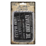 Idea-ology - Tim Holtz - Halloween - Quote Chips