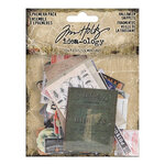 Idea-ology - Tim Holtz - Halloween - Snippets - Ephemera Pack