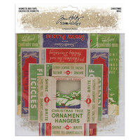 Idea-ology - Tim Holtz - Christmas - Vignette Box Tops