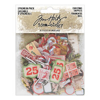 Idea-ology - Tim Holtz - Christmas - Ephemera Snippets